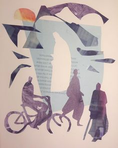 #eveningcollage #collage Doodles, Collage, Sketches, Instagram, Art, Craft Art, Sketch, Kunst, Gcse Art