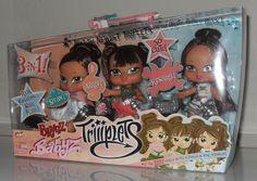 Bratz Babyz Triiiplets Sivan, Aira, Kesara Hair Flair Triplets Collectible NRFB | eBay