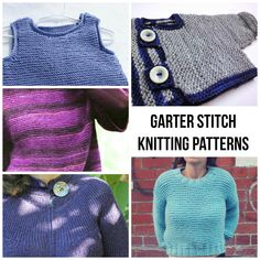 Garter stitch can be a great starting point for beginners and a relaxing stitch for more experience knitters. But such a repetitive stitch can get boring. That's why we rounded up interesting patterns that rely on the garter stitch and let you practice other techniques while on stitching autopilot.