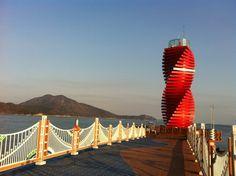 완도 등대(아이폰 사진) > 일상  Phare de Wando Hang Corée du Sud