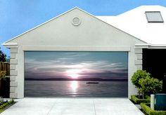 garage door art