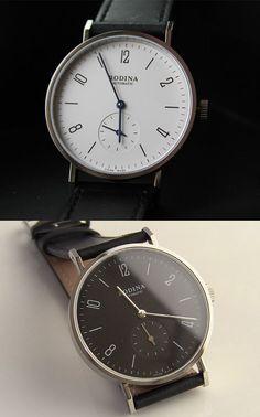 Rodina, affordable Bauhaus inspired minimal watch. #watch #rodina #minimalwatch