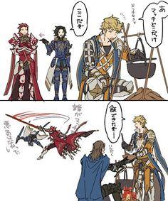 Granblue Fantasy Characters, Shingeki No Bahamut, Dragon Knight, Fantasy Comics, Fantasy Character Design, Light Novel, Funny Comics, Final Fantasy, Game Art