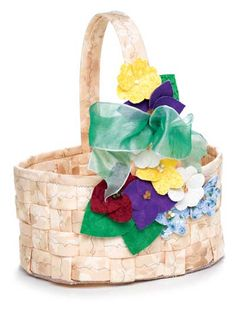 Gone A-Maying Basket Sewing Pattern
