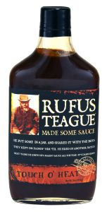Rufus Teague Touch 'O Heat sauce from our Summer Box Great for grilling! Summer 2015, Whiskey Bottle, Grilling, Bbq, Mary, Touch, Website, Food, Check