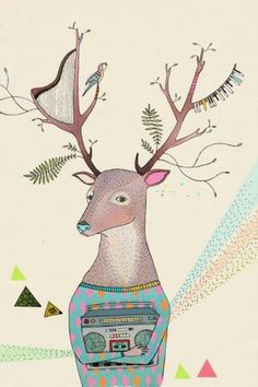 Winter Woodland Fables: A/W 14/15 kids' print & graphics