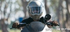 The Biltwell Lane Splitter Helmet has an aggressive style built for those… Lane Splitter, Motorcycle Riding Gear, New Helmet, Style, Swag, Outfits