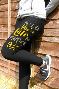 Grab yourself a pair of these MUST-HAVE, wizardry-inspired leggings for all Harry Potter fans. Check out more Harry Potter leggings here or collect them all! Harry Potter Leggings, Harry Potter Outfits, Harry Potter Love, Harry Potter Fandom, Harry Potter World, Harry Potter Memes, Harry Potter Fashion, Harry Potter Clothing, Funny Harry Potter Shirts