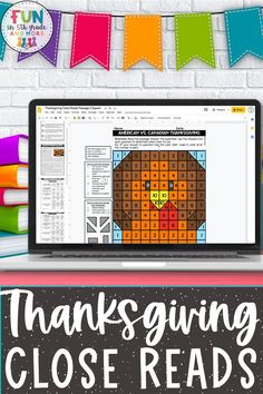 Celebrate Thanksgiving in the upper elementary while students are practicing their close reading strategies! Your students will enjoy reading these high interest passages about the history of Thanksgiving. Includes 3 different passages differentiated to 3 different levels. Each text come with text dependent questions, writing prompt, graphic organizer and mystery picture! Fun and engaging reading comprehension passages for 3rd grade, 4th grade, 5th grade