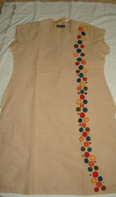Best 12 Stylish Kurti Neck Designs for Women – Kurti Blouse – SkillOfKing. Sleeves Designs For Dresses, Dress Neck Designs, Kurti Neck Designs, Stylish Dress Designs, Sleeve Designs, Blouse Designs, Embroidery On Kurtis, Hand Embroidery Dress, Kurti Embroidery Design