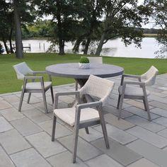 87d7ba91952f Metal Outdoor Furniture - Mariposa Dining Group