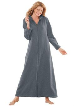 Dreams and Company Plus Size Long Ultra-Soft Fleece Hoodie Robe (Heather Charcoal,5X) DREAMS, http://www.amazon.com/dp/B005GVXXKC/ref=cm_sw_r_pi_dp_OjBVqb1FDEP76