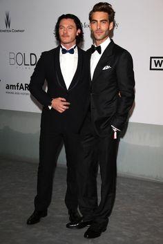 Luke Evans and Jon Kortajarena