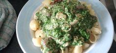 Pasta Met Kip,spinazie,champignons En Boursin recept   Smulweb.nl
