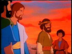 Dessin animé la BIBLE : la multiplication pain
