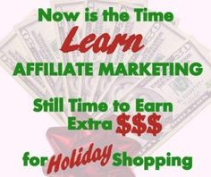 Want to work at home and still make Good Money? Try Affiliate Marketing Today!