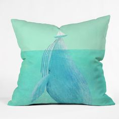 Eric Fan Lift Outdoor Throw Pillow | DENY Designs Home Accessories