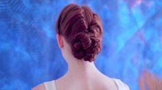 chignon torsades by Fred