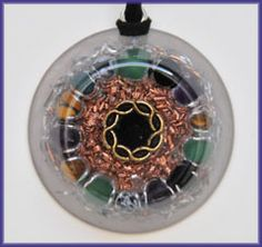 For Energy Sensitive People Protection is a must... Protection orgone pendant---Amulet of protection $97 http://www.natures-blessings.org/ProtectionOrgonePendant.htm