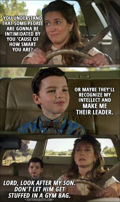 Young Sheldon Poster Collection: Amazing Posters for Sheldon Cooper Fans Sheldon Cooper Memes, Sheldon Quotes, Big Bang Theory Funny, Big Bang Theory Quotes, Dark Humour Memes, Humor, The Big Bang Therory, Tv Series 2017, Aviation Quotes