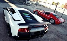 Classic Lamborghini and  Lamborghini Murcielago