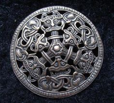 Borre style evolved at the latest c. 850 and was still used in the late 10th century. This art style was popular in areas settled by the Vikings. Borre style was mainly employed to decorate jewelry, belt-fittings and woodwork.