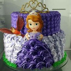 40 Ideas For Birthday Cake Chocolate Girl Princess Sofia Cake, Princess Sofia Birthday, Sofia The First Birthday Cake, Birthday Cake Girls, Frozen Birthday, Birthday Parties, Bolo Sofia, Sophia Cake, Chocolate Girls
