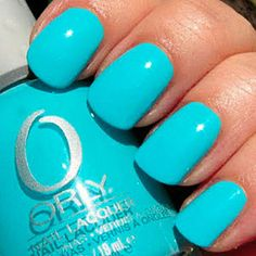 "I know this isn't the TRUE color of ""Frisky"" by ORLY, but this picture shows the EXACT color I want!"