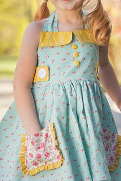 Ginger Dress & Top Pattern by Violette Field Threads