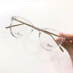 Clear Glasses Frames Women, Transparent Glasses Frames, Glasses Frames Trendy, Dior Eyeglasses, Eyeglasses For Women, Glasses Trends, Lunette Style, Fashion Eye Glasses, Makeup