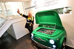 Cannot afford a original FIAT 500, be happy with the front end and it being  a fridge. I dont normally post things I do not like. But this is stupid!  Fiat 500 & SMEG by Fiatontheweb, via Flickr