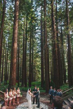 Wedding Berkeley Botanical Gardens