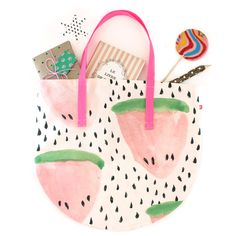 Watermelon Tote / Baba Souk | Enter for a chance to win $50 http://blog.jchongstudio.com/2013/08/baba-souk-50-giveaway.html