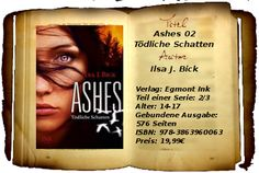 """""""Ashes 02"""" ist anders als sein Vorgänger. Er hat mehr Tempo, mehr Action, mehr brutale Szenen... und leider auch mehr Protagonisten, die ihre Geschichte erzählen wollen. Diese Mischung macht das Buch etwas verwirrend und undurchsichtig. Und so schrammt """"Tödliche Schatten"""" knapp am Siegerkrönchen vorbei, erhält aber dennoch empfehlenswerte 4 Bücher von mir."""