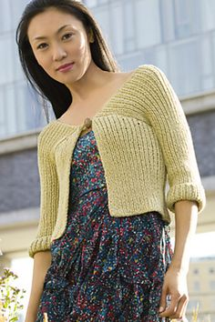 Ravelry: High Line Cardigan pattern by Rosemary Drysdale