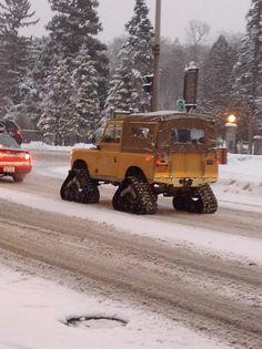 Land Rover Defender 90.