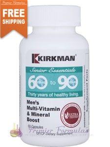 Mens Multi-Vitamin & Mineral 60 caps