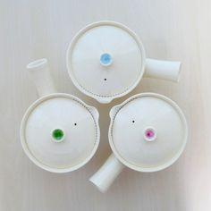 Sawa Houzan: Shigaraki-yaki Shiboridashi Yokode Kyusu Teapot for Two
