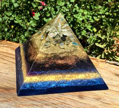 Orgonite Pyramid to Activate Psychic Abilities