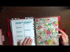 Erin Condren Life Planner in my Filofax Work Planner, Erin Condren Life Planner, Filofax, Journal Ideas, About Me Blog, Bullet Journal, How To Plan, Youtube, Youtubers