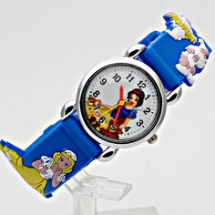 2017 children snow white cartoon watch brand watches casual quartz watches Multi-color watches for   kid hot sale