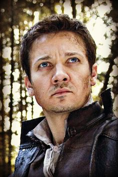 Jeremy Renner. I'm developing a small crush on him.