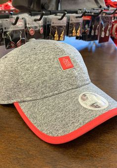 buy popular aaf8d 4385c New Era St Louis Cardinals Grey Trimflect Pop 9TWENTY Womens Adjustable Hat  - Image 1 Cardinals