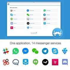 Our first post would be sharing this amazing app!  Franz is a free messaging app that combines chat & messaging services into one application.  I've been using this app for about 3 weeks and absolutely love it. It's lightweight simple and free :-) It currently supports Slack WhatsApp WeChat HipChat Facebook Messenger Telegram Google Hangouts GroupMe Skype and many more. You can download Franz for Mac Windows & Linux.  You can download the app over here ==> meetfranz.com  Have you tried it…