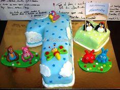 Baby TV Cake  Cake by Bolos do Nosso Imaginário