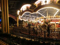 Prince Charming's Carousel in Fantasyland at the Magic Kingdom | Pinned by Mousefan in a Minivan | #disney #wdw #disneyworld #magickingdom #parks #fantasyland #cinderella #carousel #attraction #ride #photography #florida #orlando #vacation #travel