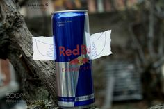 RED BULL MAKES YOU WITH WINGS - Pinned by Mak Khalaf RED BULL MAKES YOU WITH WINGS TO FLY ... An improvised photo  a energy drink redbull with drawing wings by a simple pencil by me ! Performing Arts artartisticbackgroundbeautifulcolorcolorfulcreativeeffectenergy drinkideaillustrationmodernredbullstrongwings by endrittfazliu