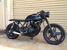 1980 Honda CB750 by Steel Bent Customs
