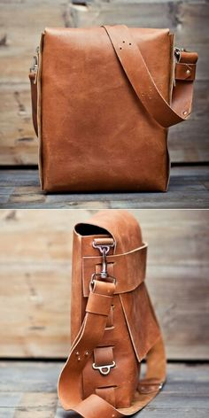 Good looking leather satchel
