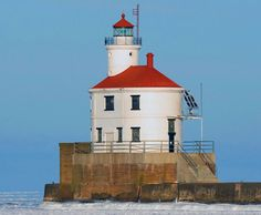Lighthouses in Wisconsin | The rounded features of the Wisconsin Point Lighthouse set it apart ...